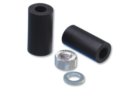 Gummiadapter für die Blinker-Installation