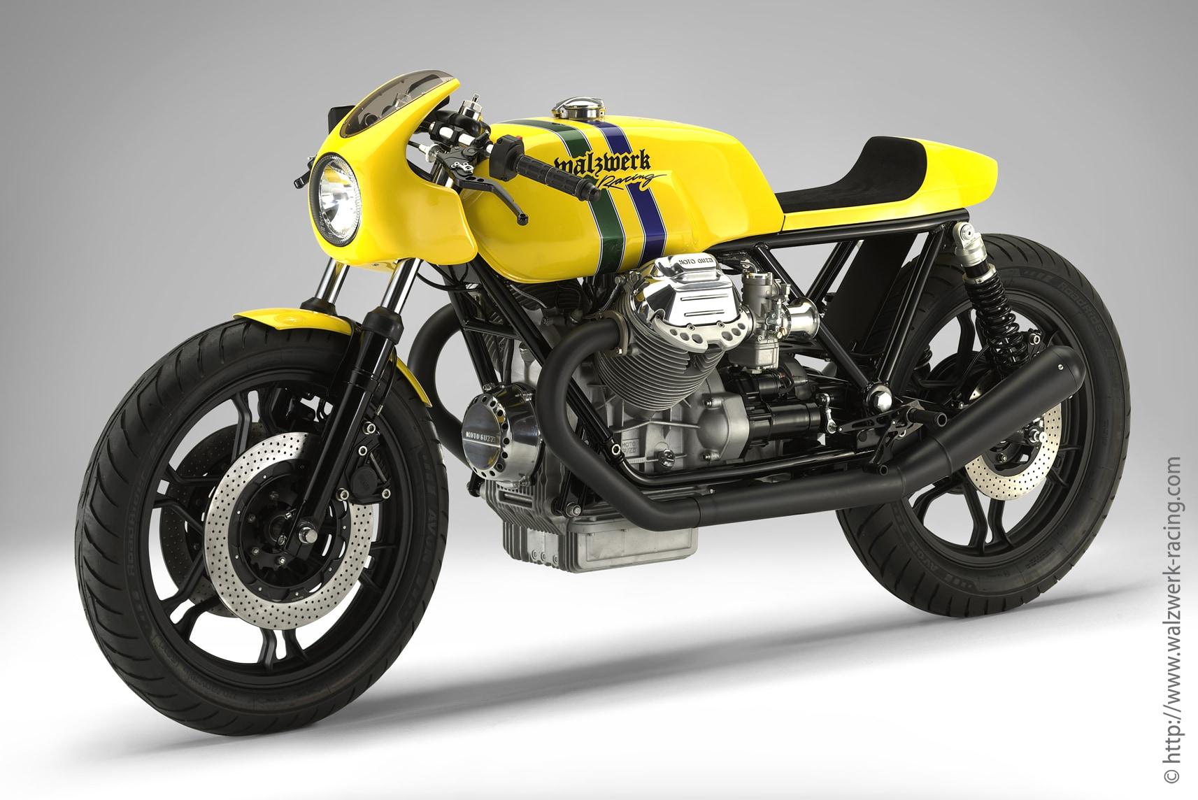 Custom Moto Guzzi mit Blinker BL 2000