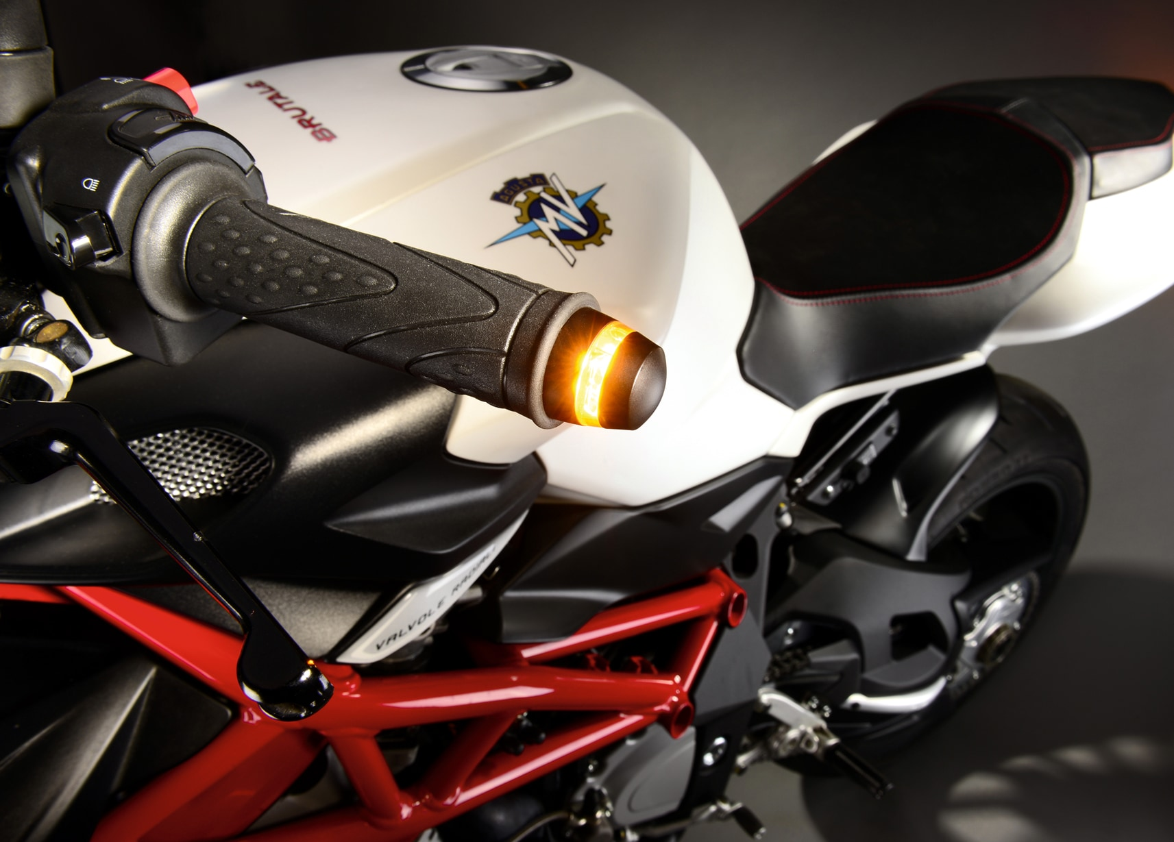 MV Augusta Brutal indicators for handlebar ends