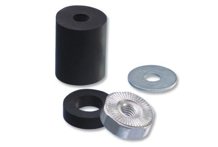 Rubber adapter set