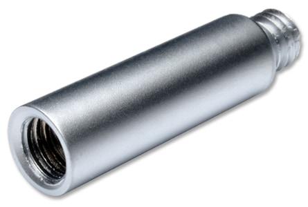 Extension 25 mm matt chrome